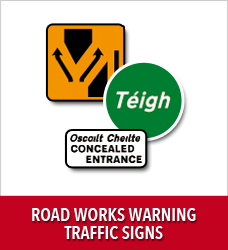 McMenamin Commercials - Road Works Warning Traffic Signs